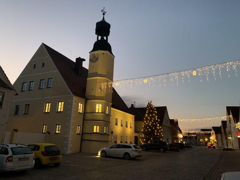 Rathaus Weihnachten 2020